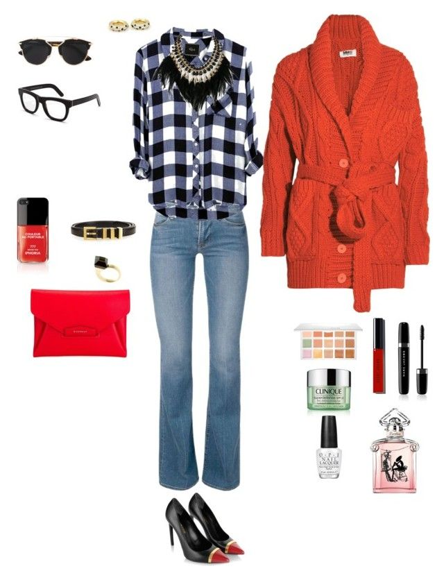 """Tarde de Otoño por Buenos Aires!"" by agustin-moretti on Polyvore featuring Yves Saint Laurent, Givenchy, WithChic, Gucci, Cartier, MM6 Maison Margiela, Christian Dior, RetroSuperFuture, Sephora Collection and Bobbi Brown Cosmetics"