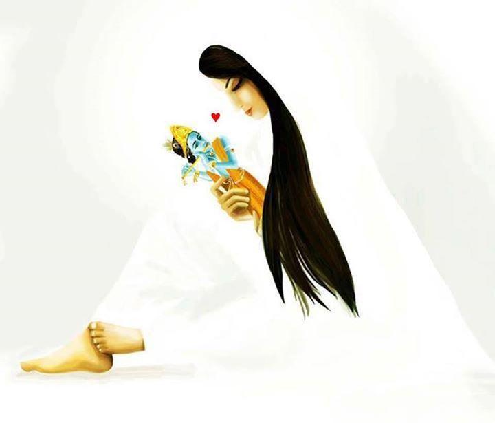 Meera Krishna With Images Radha Krishna Art Lord Krishna