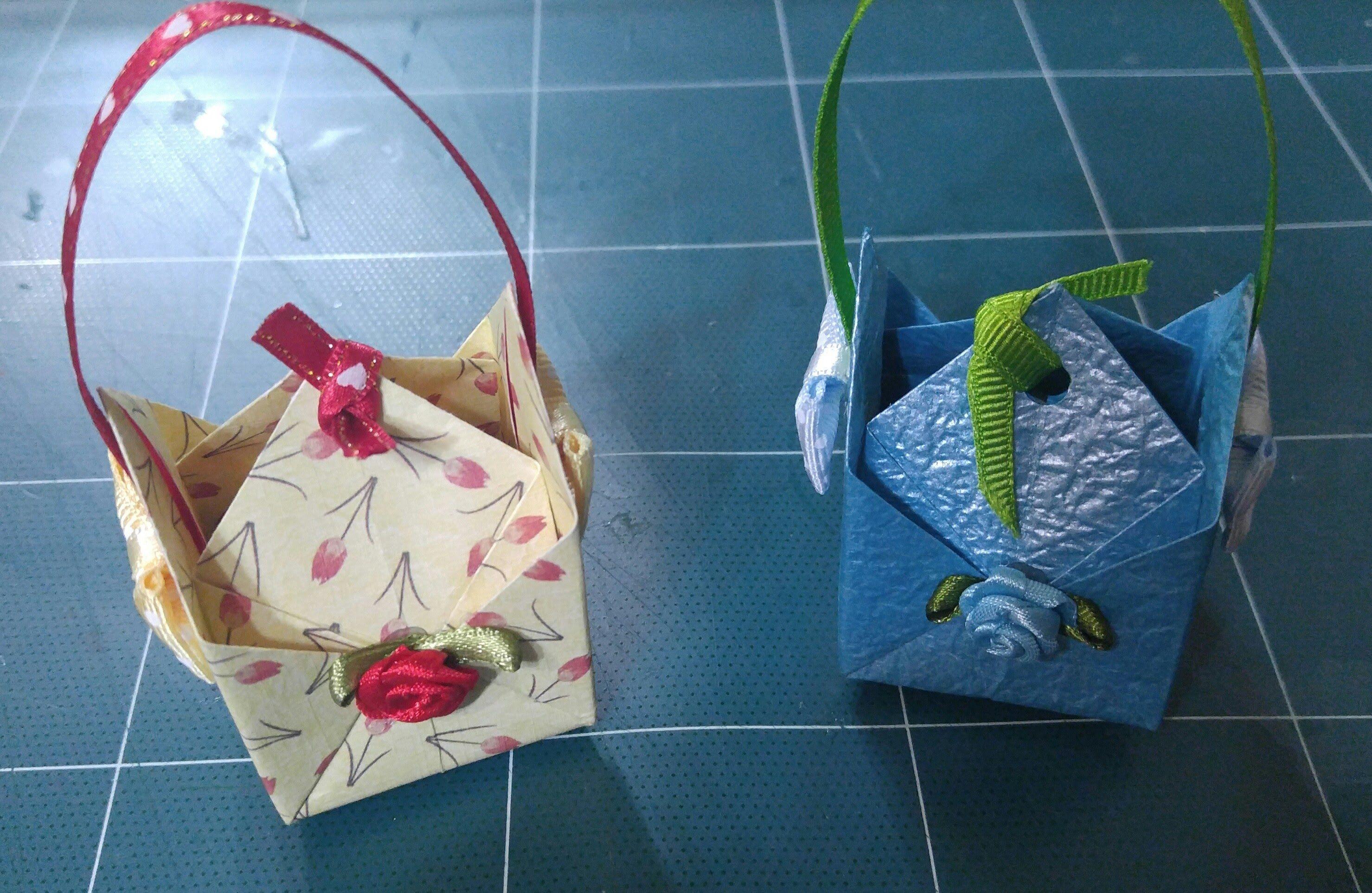 326.파레로로쉐쵸콜릿박스접기.오월의장미.종이접기.미니선물상자.종이공예.origami.