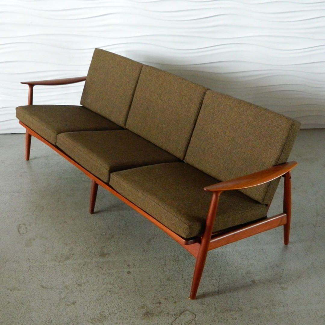 Ha 17093 Danish Teak Sofa By John Bone