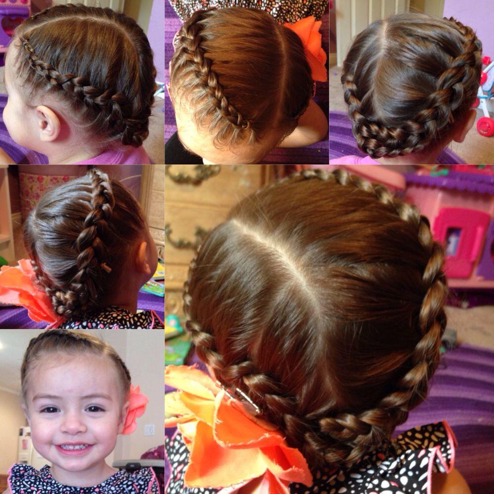 Crown Braid For Toddlers Crown Braid