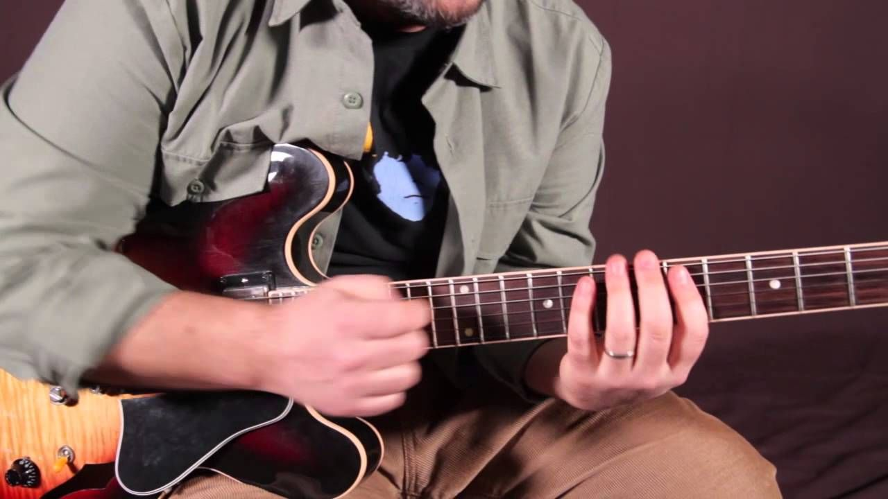 Blues Guitar Lesson Blues Licks Mixing the Major and