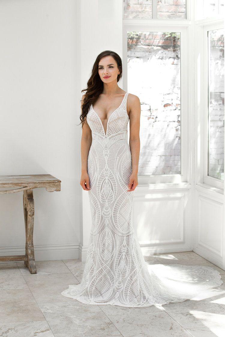 Zavana Beatrice Miss Ruby In 2020 Wedding Dress Store Beaded Lace Wedding Dress Bridal Dress Design