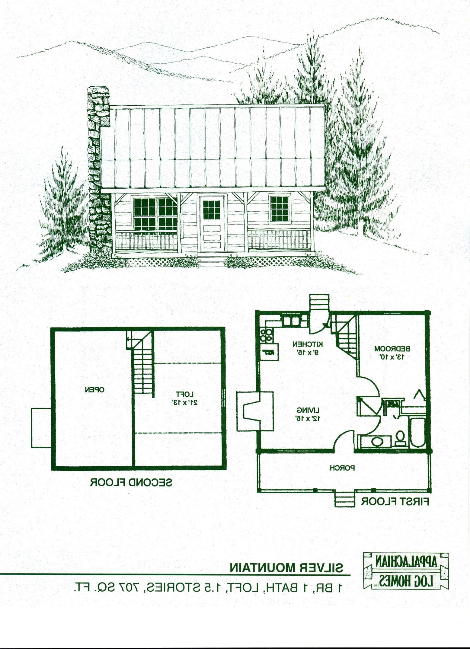 cabins with lofts floor plans best ideas about log cabin small ...