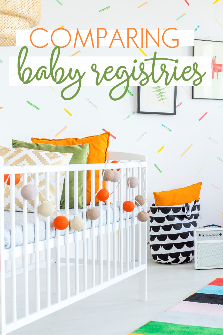 Comparison of best baby gift registries in stores and