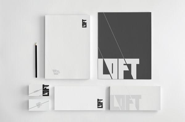 The Loft - Corporate Branding by JGarratt , via Behance
