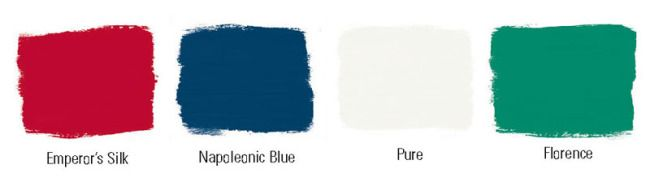 Annie Sloan paint swatches