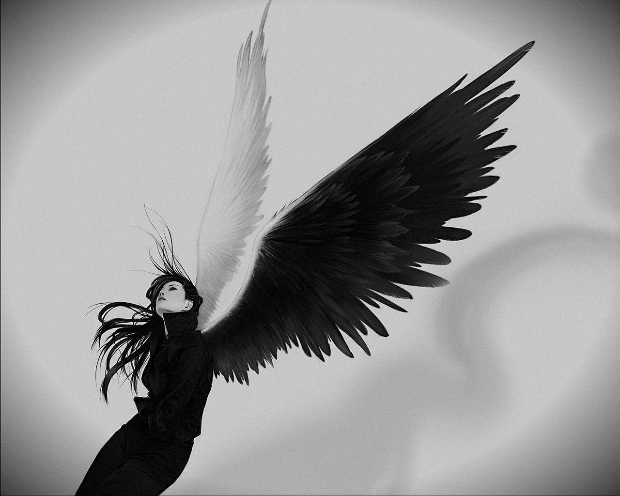 Olya Milaxa Black Angel Angel Wallpaper Angel Art Black Angels