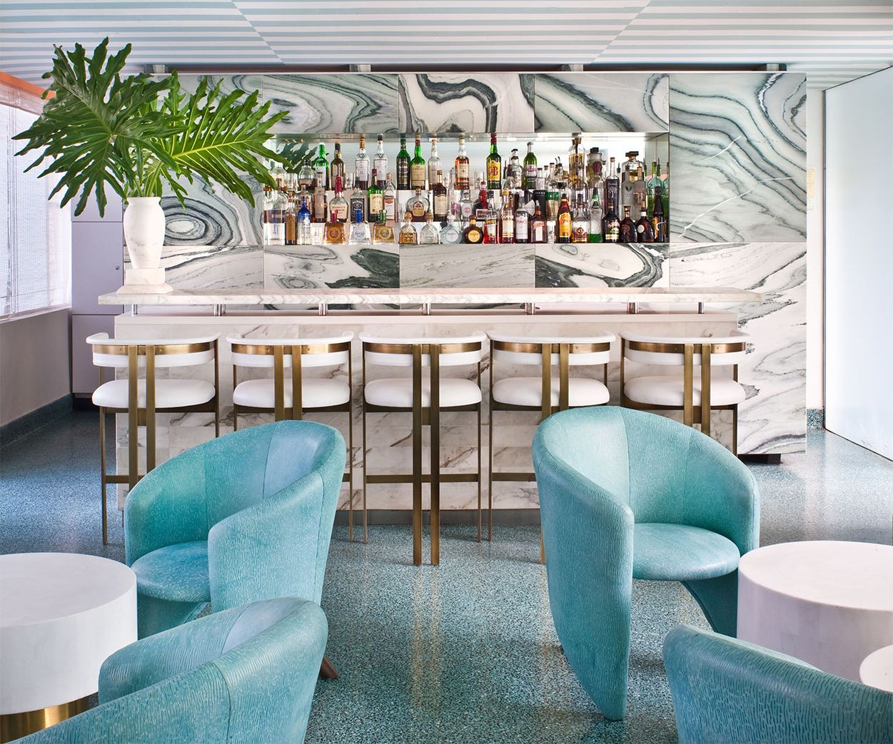 Avalon Beverly Hills - Bar - Commercial Project - Kelly Wearstler ...