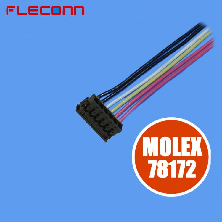Molex 1.2mm Pitch 6 Pin Wire Harness 1.2MM PITCH