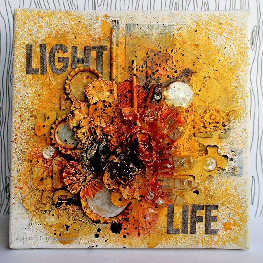 Riikka Kovasin - Paperiliitin: Light Life - Prima PPP October