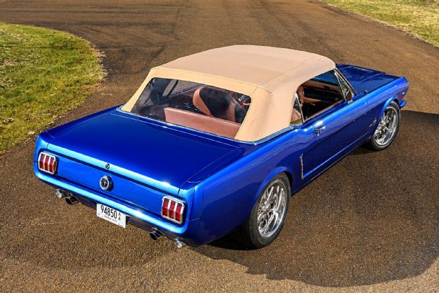 A 1965 Mustang Convertible For New Zealander S Father Back Home Photo Image Gallery