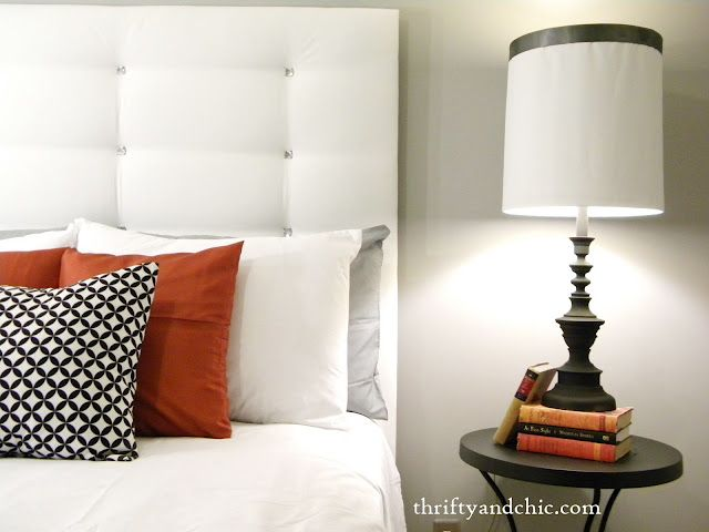 Make your own plush headboard for 20 a well diy Make your own headboard