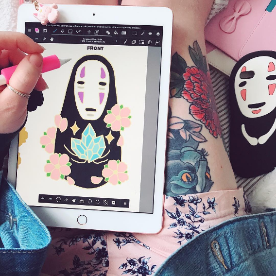 Spirited Away No face anime iphone case review SE282