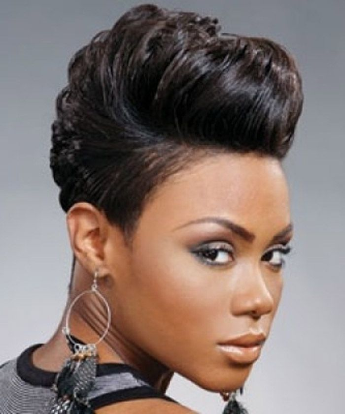 2015 African American Short Quick Weave Hairstyles 2015