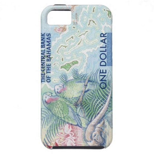 Bahamas Dollar Bill iPhone 5 Case #iphone #money