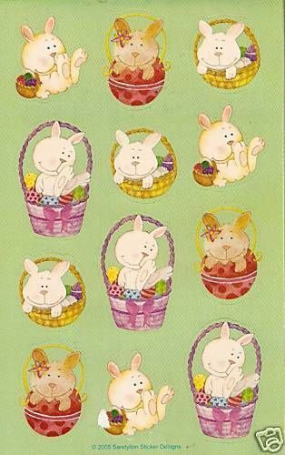 Sandylion Vintage Easter Bunny 10 Maxi Sheets   eBay