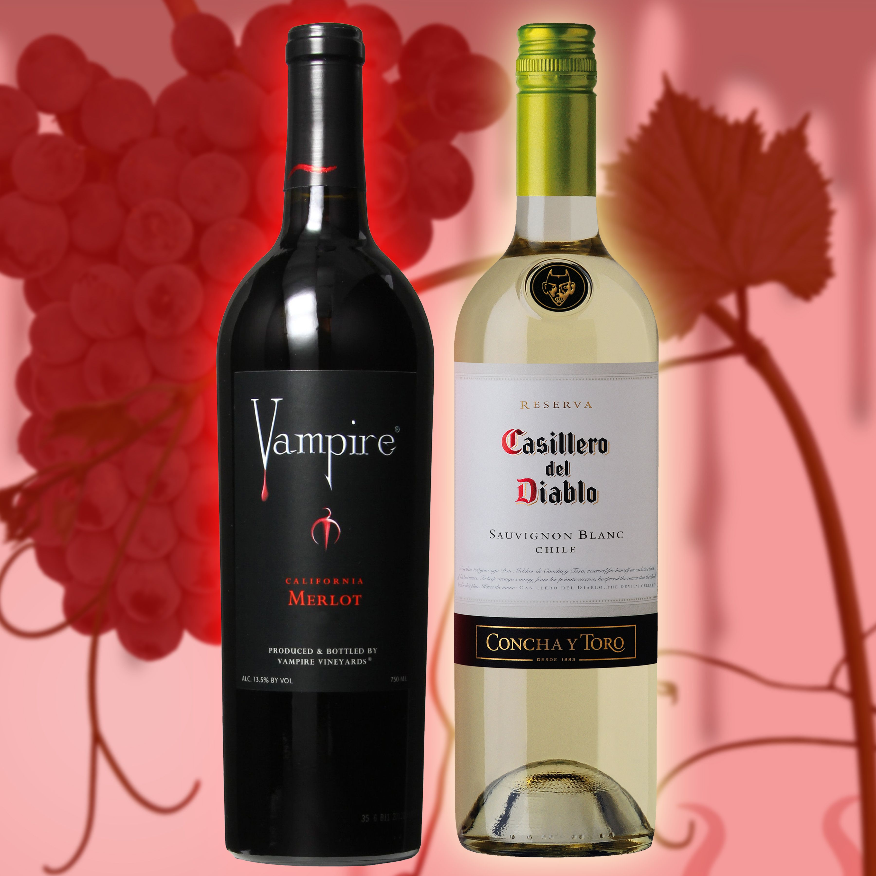 Deals Of The Day Free Shipping 6 Bottles Mix Match Offer Only Applies To Bottles Shown Vampire Merlot 7 67 A Bottle G Bottle Sauvignon Blanc Buy Wine
