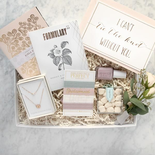 Bridesmaid Proposal Gifts Ideas Unique Bridal Party