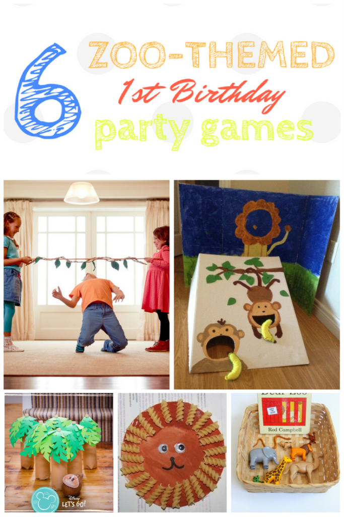 Photo of 10 Zoo Themed Party Games Erster Geburtstag