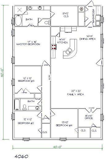 Metal Building Homes Buying Guide Kits Plans Cost Insurance Barndominium Floor Plans Barn House Plans Floor Plans