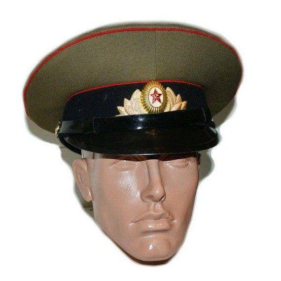 f87d1b219 Soviet military Internal troops, Cap of a tankman of the USSR ...