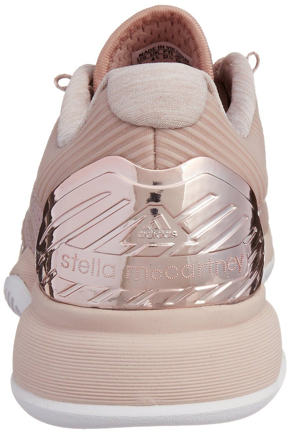 newest edf20 921bc adidas Stella McCartney Barricade Ladies Tennis Shoe, Light Pink, UK8  Amazon.co.uk Shoes  Bags