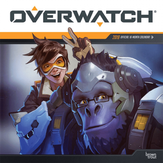 Overwatch 219 Calendar Blizzard Gear Store (With images