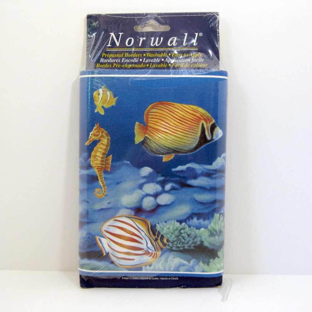 Tropical Fish Wallpaper Border Underwater Nautical