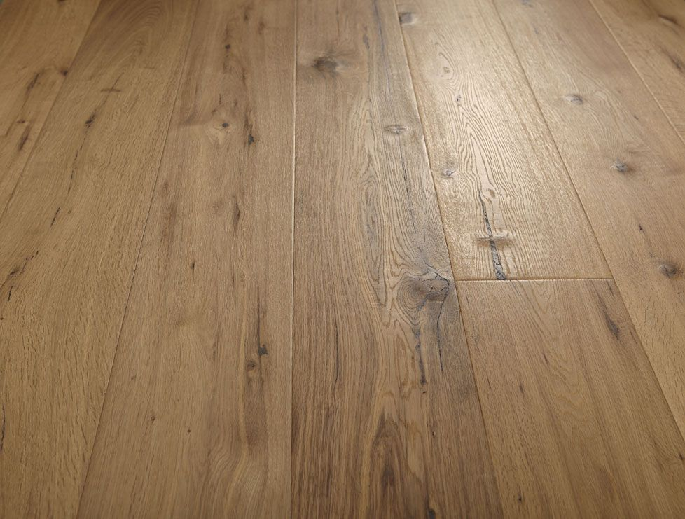 Aged Smoked American Oak Timber Floors Medium Coloured