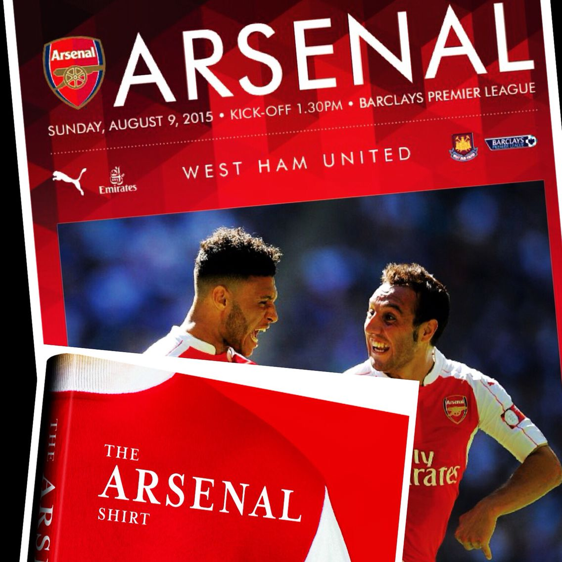 For the 15/16 season The Arsenal Shirt will feature in the