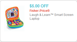 Laugh And Learn Smart Screen Laptop 5 00 Off Printable Coupons Coupon Savings Coupons