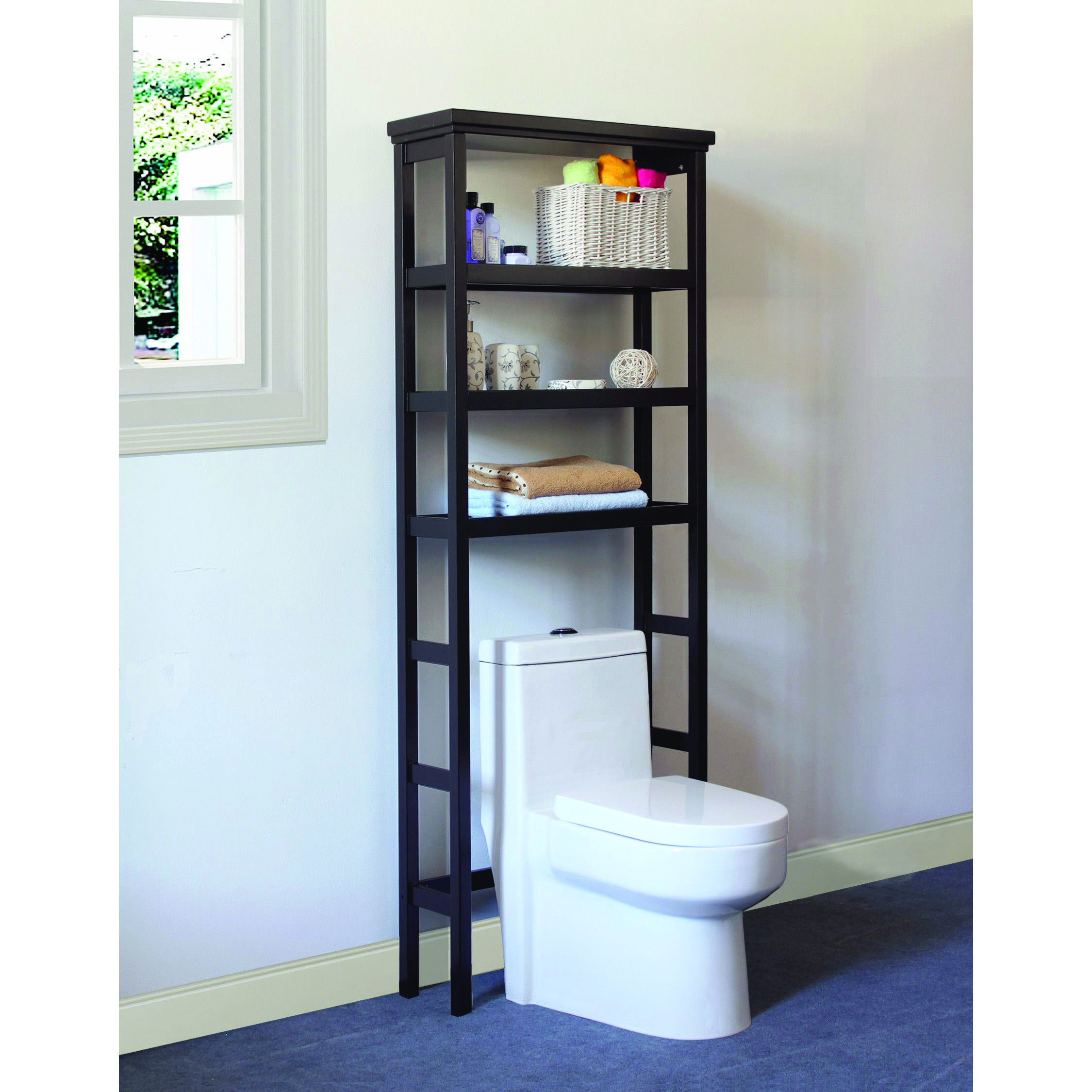 Find Over The Toilet Storage Australia Only On This Page Toilet Storage Bathroom Shelves Bathrooms Remodel