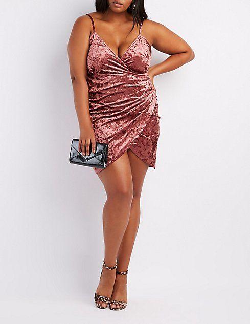 Plus Size Velvet Bodycon Dress | Body Positive | Velvet ...