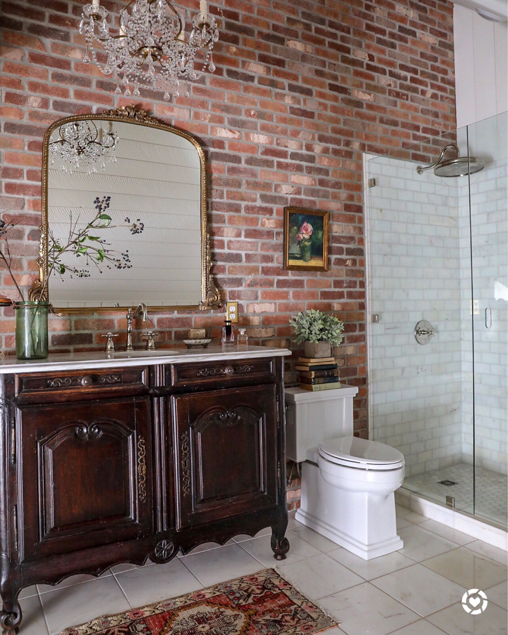 Attic Bathroom / Master Suite Bathroom / Master Bath ...