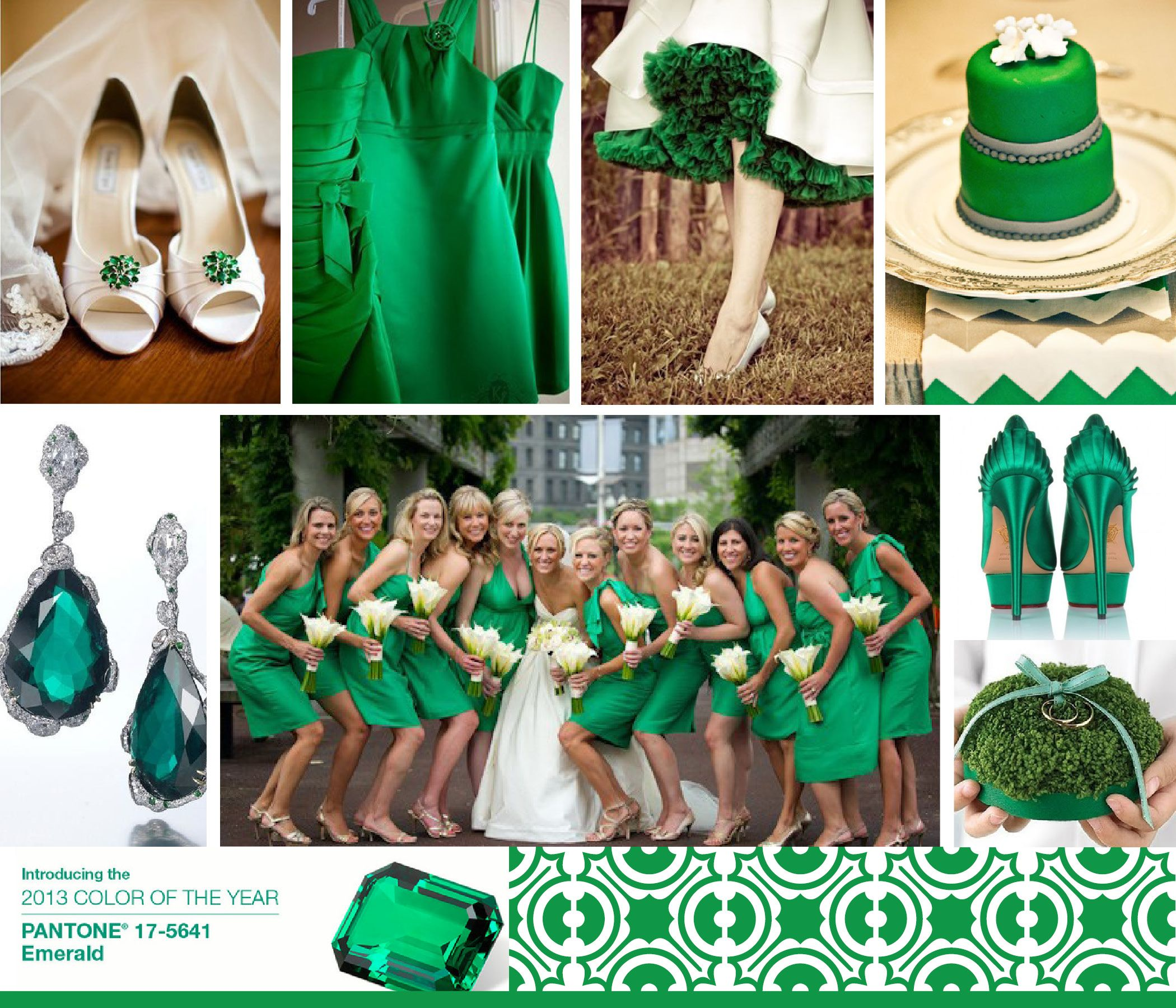 2013 Pantone Color Of The Year Emerald Green