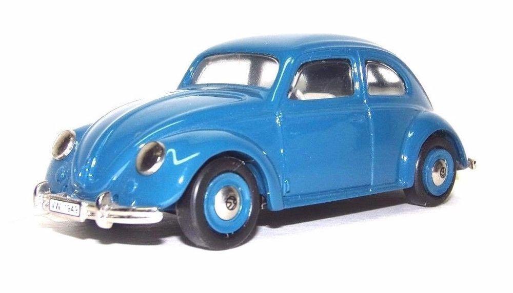 Vintage Diecast Car Century Volkswagen No.3 AMR Diffusion Paris VW Bug  Beetle #Dinky #VW