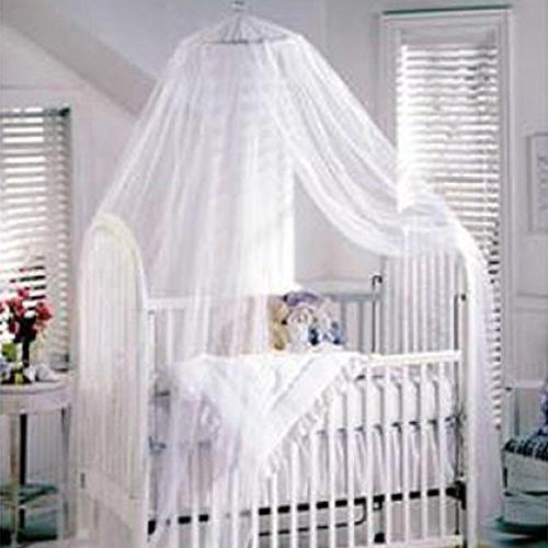 Sealike Cute Baby Mosquito Net Nursery Toddler Bed Crib Canopy Netting Hanging Ring With Stylus White You Can Find Baby Bed Canopy Crib Canopy Baby Canopy