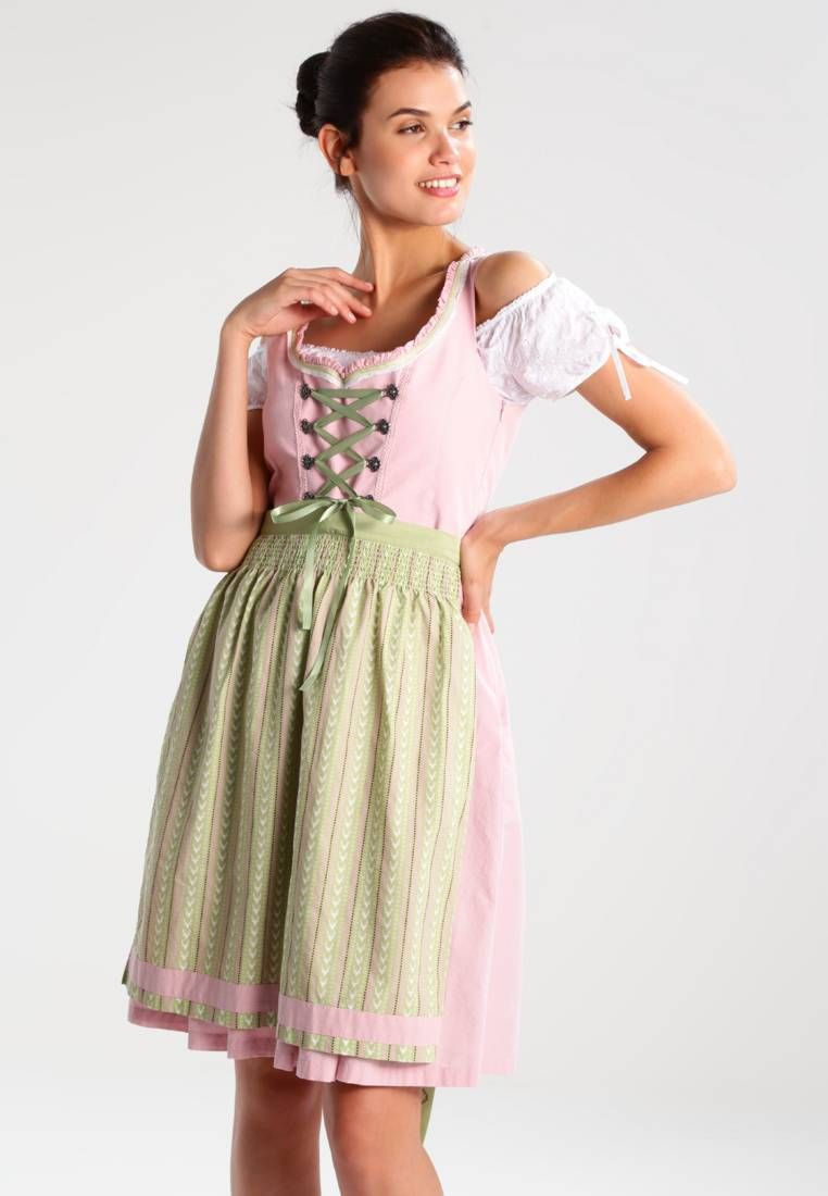 70bb83f77152c Dirndl - rose. Fit tailored. Outer fabric material 100% cotton. Our model s  height Our model is 71.0