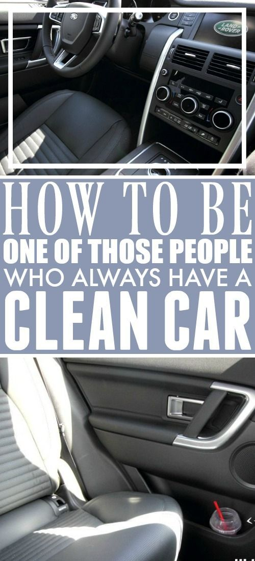 How to Always Have a Clean Car | The Creek Line House