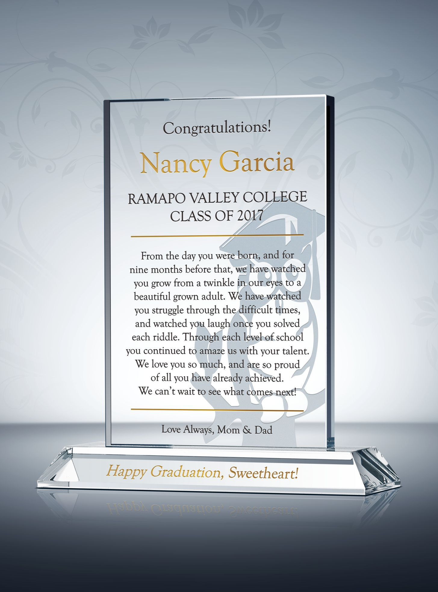 College graduation gift for daughter graduation gifts