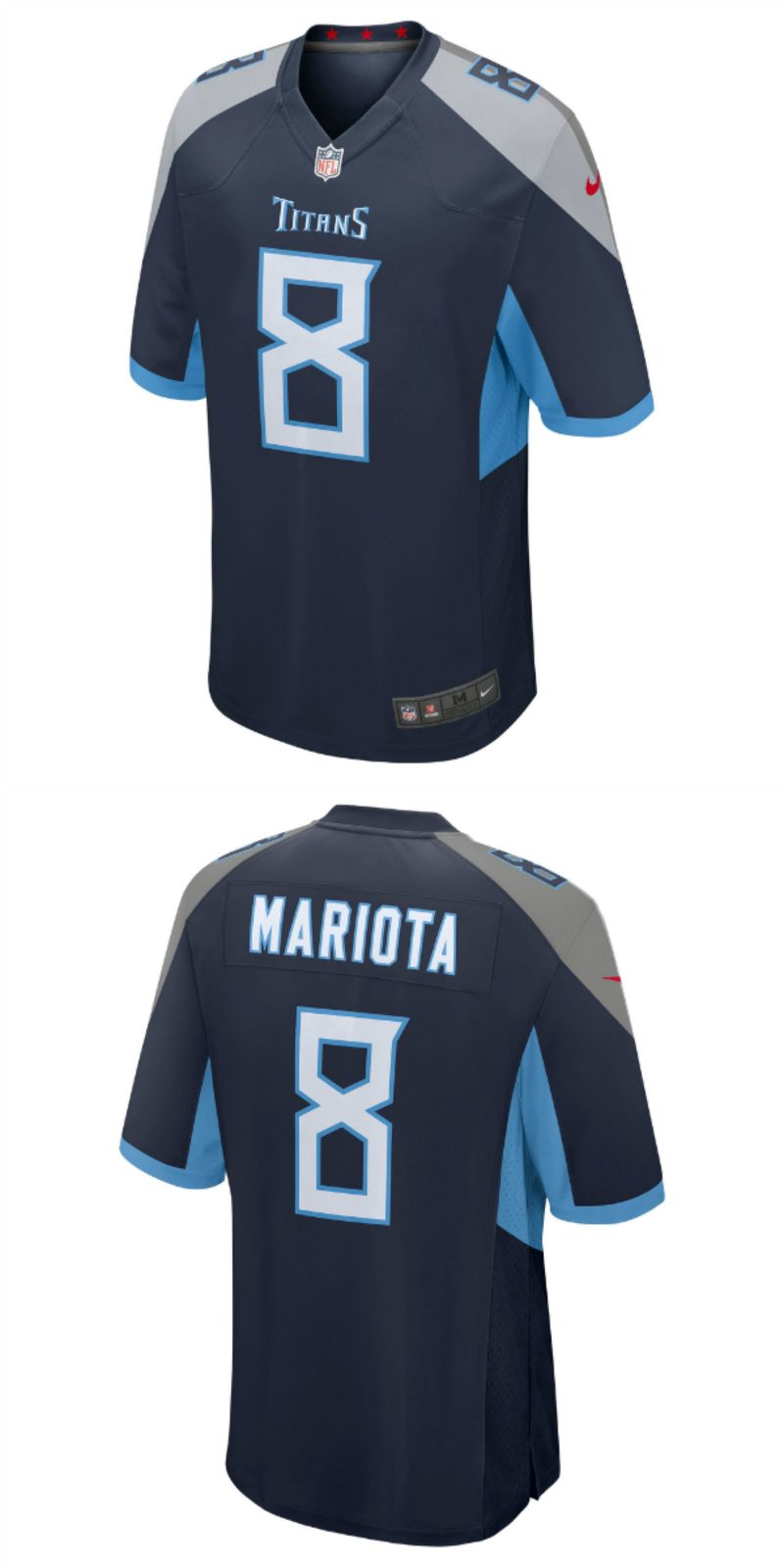 d8bd59da UP TO 70% OFF. Marcus Mariota Tennessee Titans Nike New 2018 Game ...