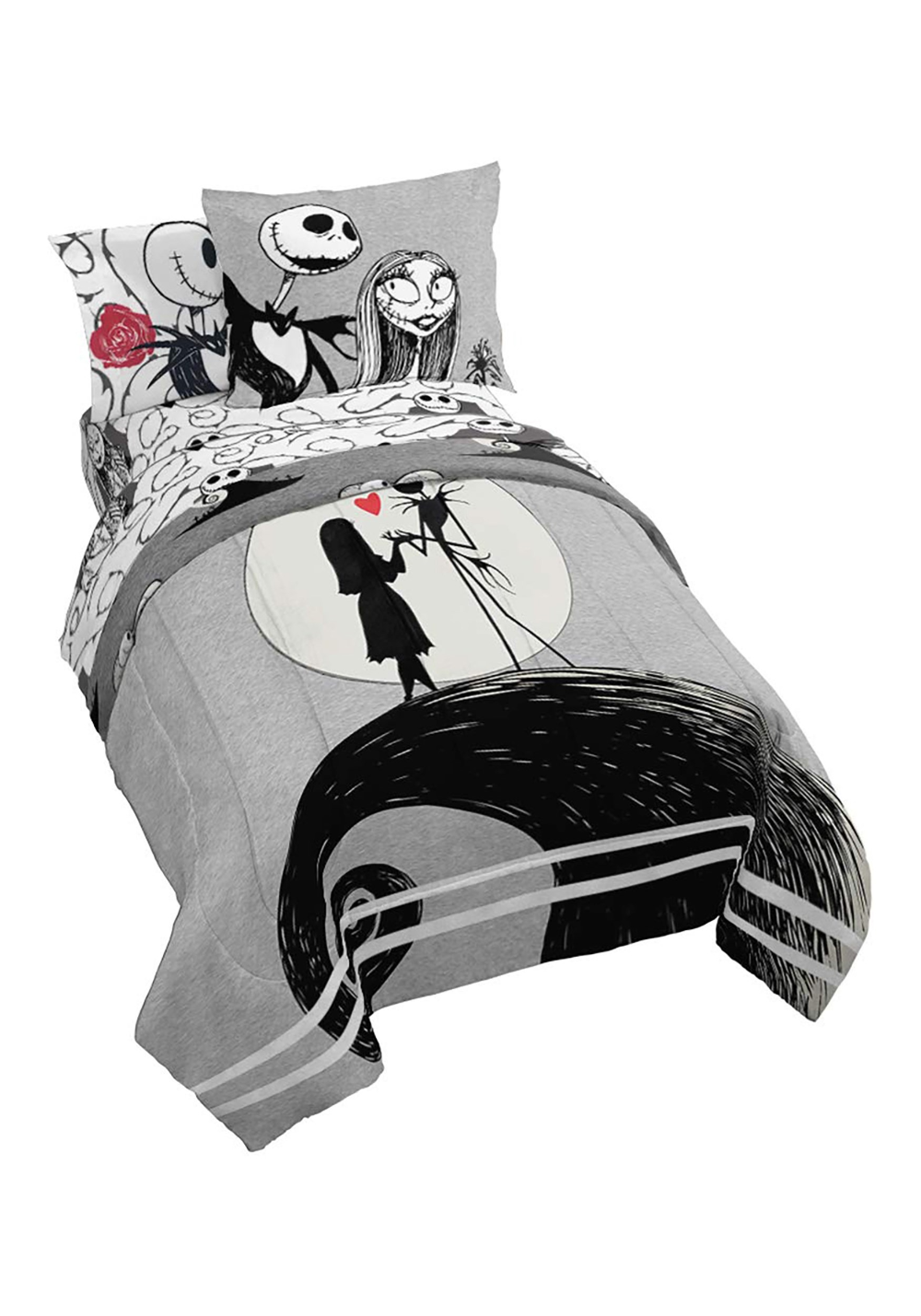 Nightmare Before Christmas Moonlight Full Size Bed In A Bag Bed In A Bag Full Bedding Sets Nightmare Before Christmas
