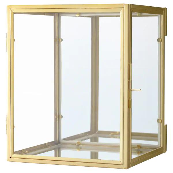 Bomarken Display Box Gold 6 X7 X6 En 2020 Ikea Boite Decorative Boite