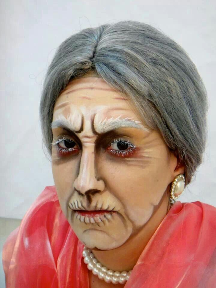 Face Paint Old Lady Face Painting Painting Face Painting