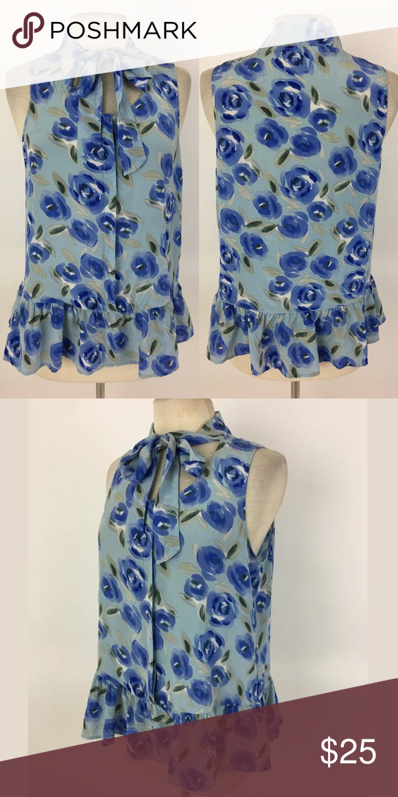 d31d6a0fdac56 Joe Fresh silk top Bust  38 Waist  39 Shoulder to hem  24 100% silk Item   723 Joe Fresh Tops Blouses