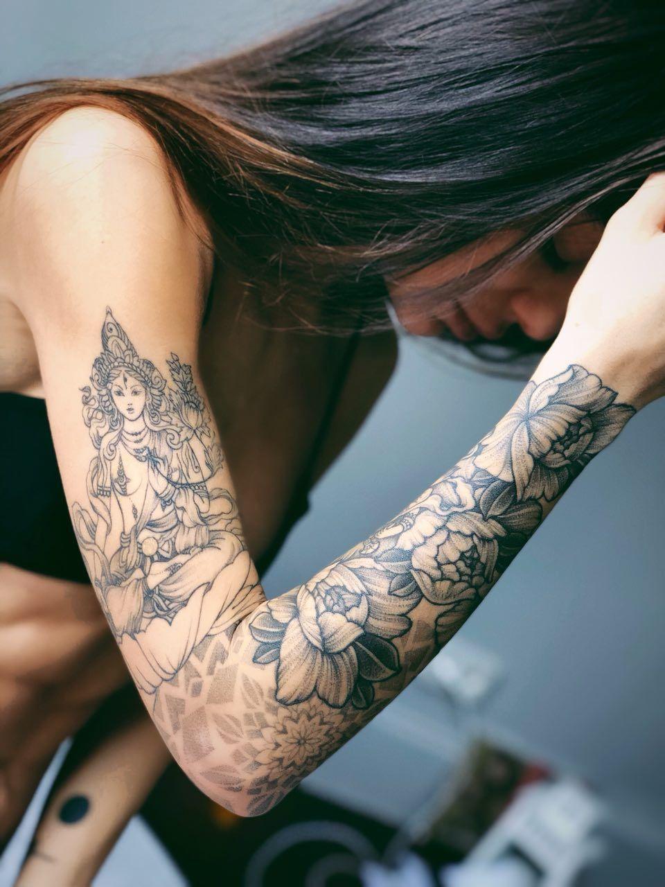 Tatuering Yoga