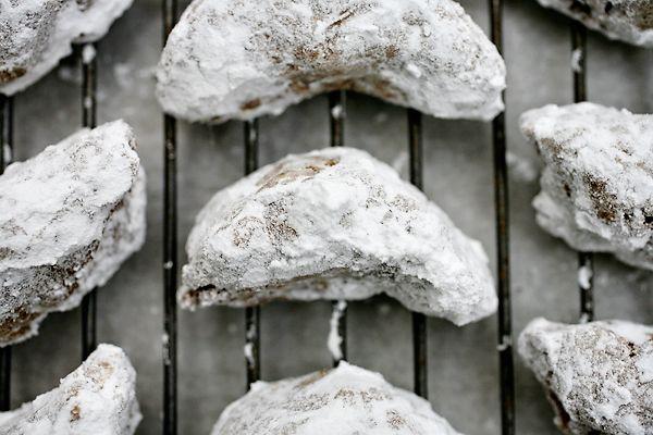 Cardamon Crescent Granola Cookies