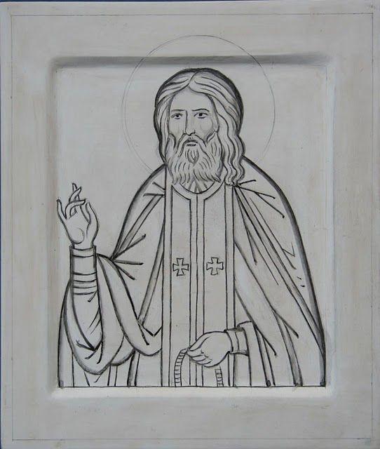 Картинки святых карандашом