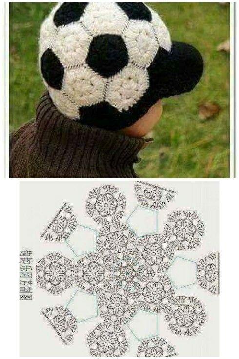 Gorro pelota | ACCESORIOS | Pinterest | Gorras, Gorros crochet y Croché
